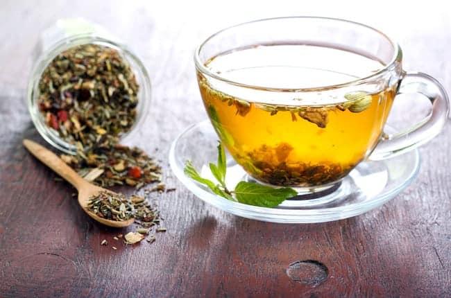 detox tea home