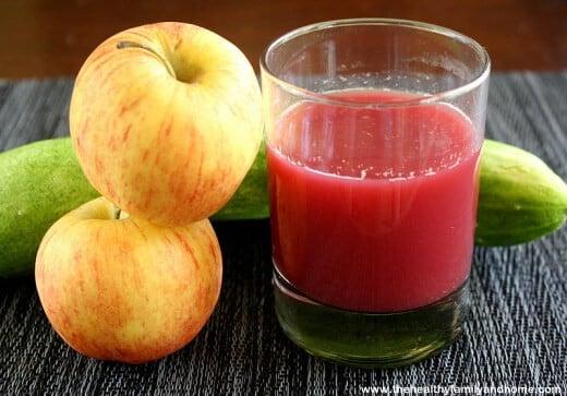 Apple Cucumber Juice