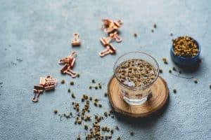 Chamomile detox tea