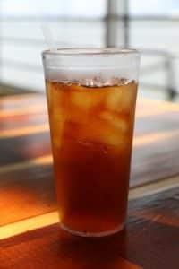 Iced Green Detox Tea