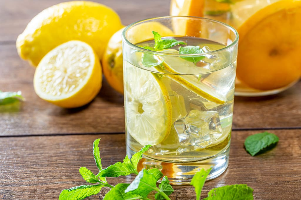 Lemon and Mint Detox Water Recipe